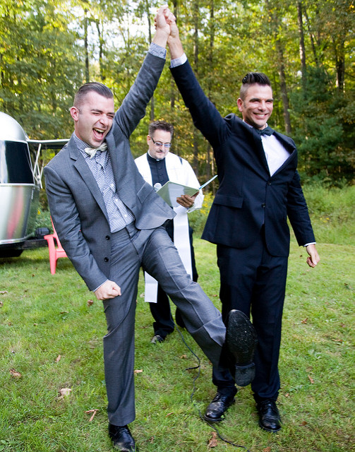 Chris & Keith - Just Married!.jpg