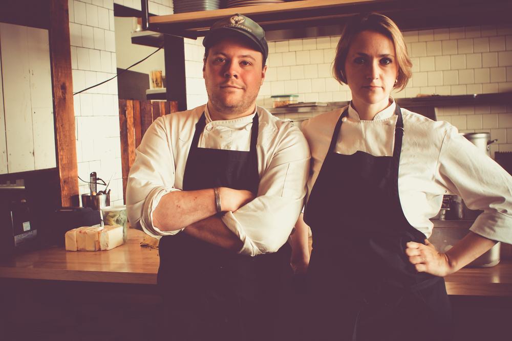 Chefs Evan + Sarah Rich