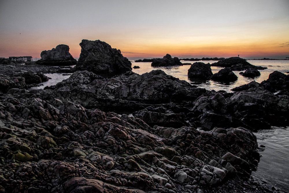 Sunset in Hayama