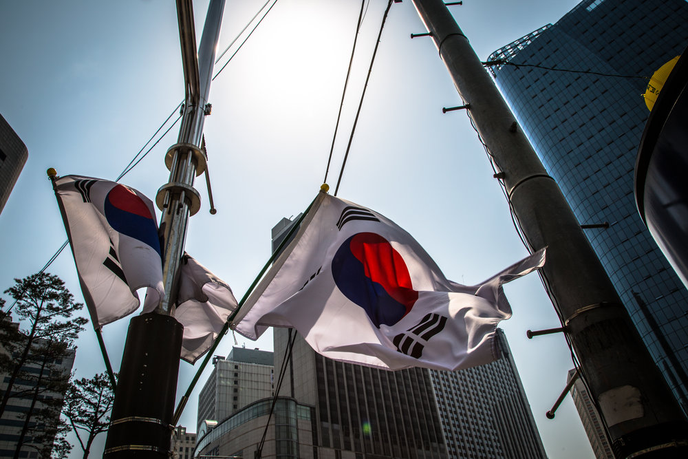 South Korea!