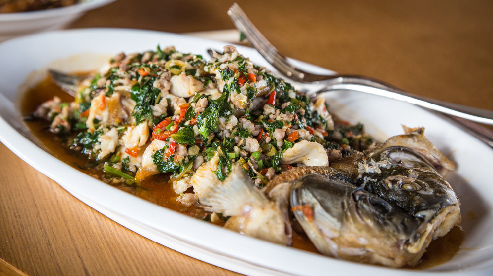Yunnan Fried River Fish