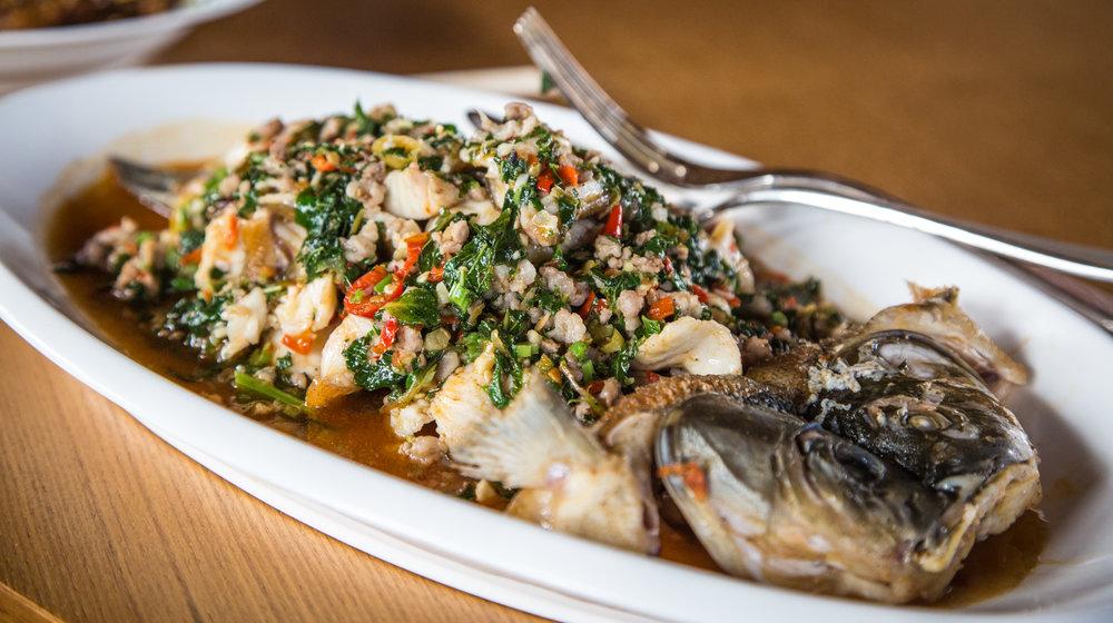 Yunnan Fried River Fish
