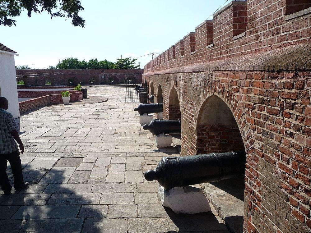 Port Royal Defenses. Image Credit:Raychristofer - Wikipedia