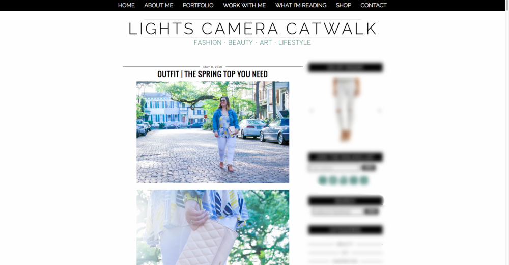 Lights Camera Catwalk, Fashion Blogger.