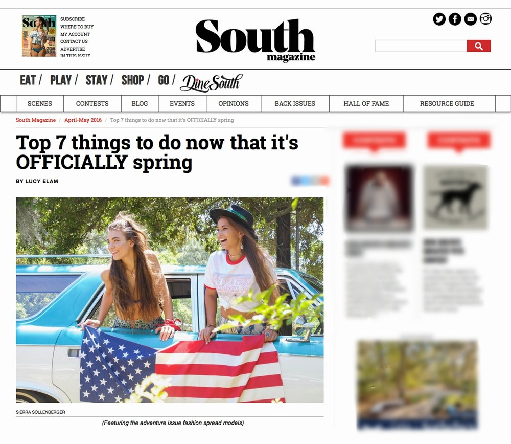South Magazine.