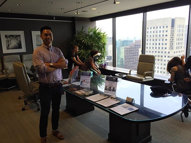 Another great event with Dr. Huang of Madison Square Wellness! #corporatewellness #wellness #chiropractic #nyc