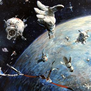SPACE JUNK by JOHN BERKEY Comic Art