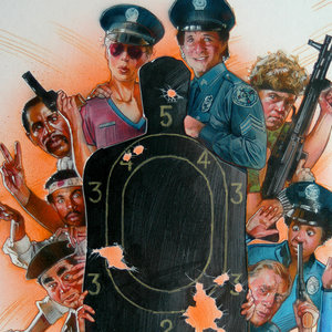 Police Academy III Comic Art