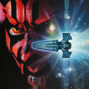 Star Wars Darth Maul #2 Cover Comic Art