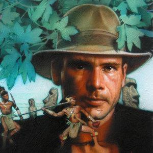 Indiana Jones Interior World Comic Art