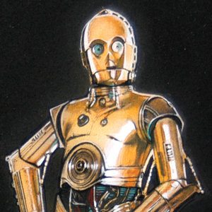 C-3PO Comic Art