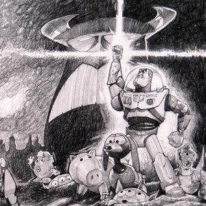 Disney's Toy Story Comic Art