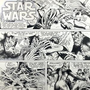 STAR WARS DAILY COMIC STRIP by RUSS MANNING Comic Art