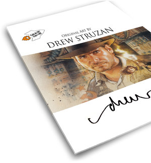 Drew Struzan Original Art Catalog Comic Art