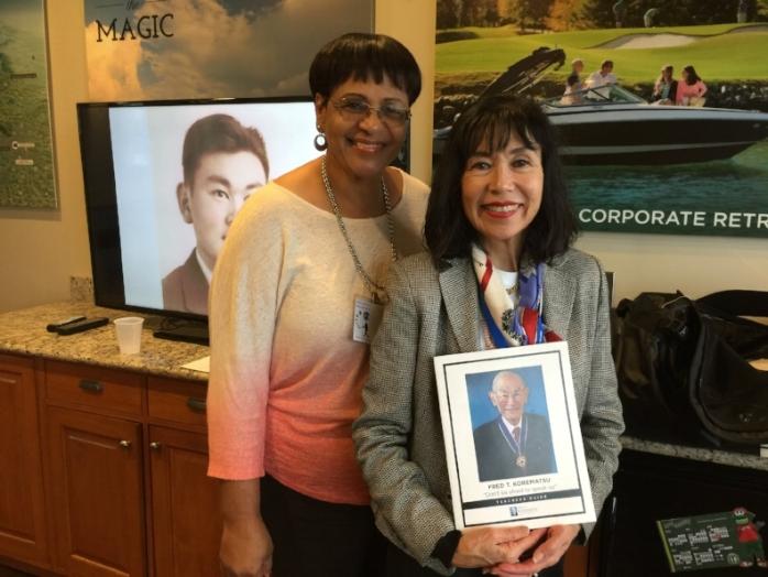Teacher at South Carolina CCS Conference with Karen