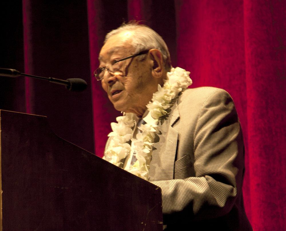 Writer and legacy voice Hiroshi Kashiwagi