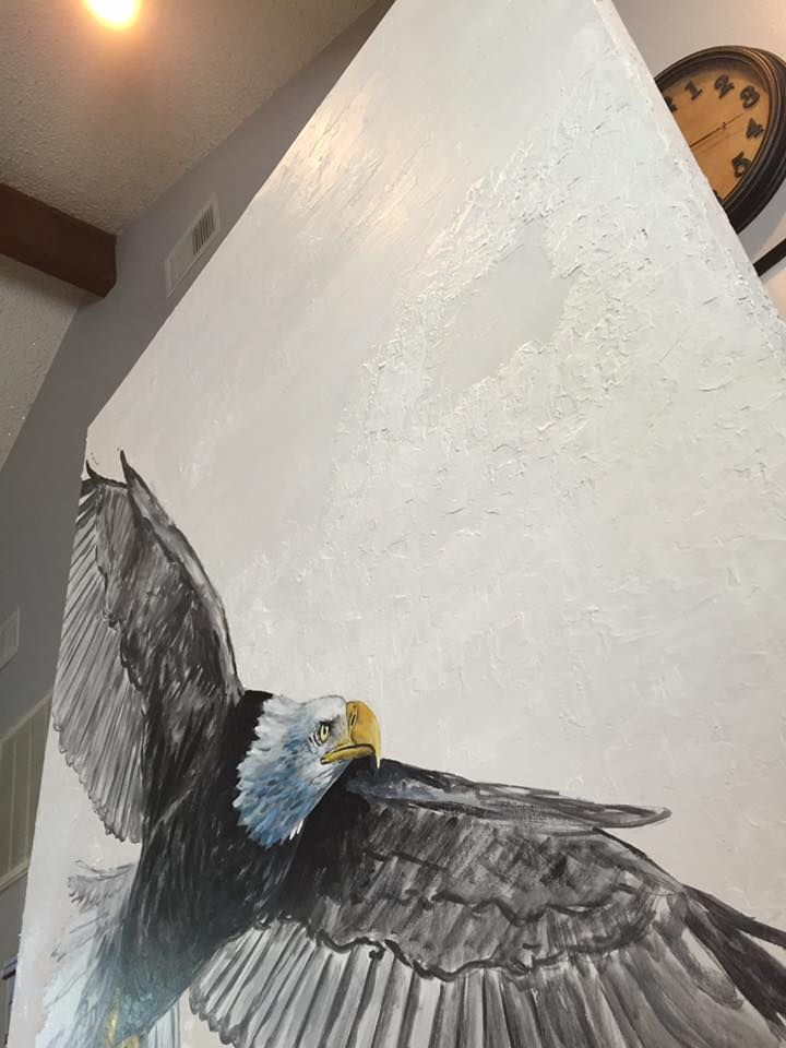 begin detailed work on the eagle