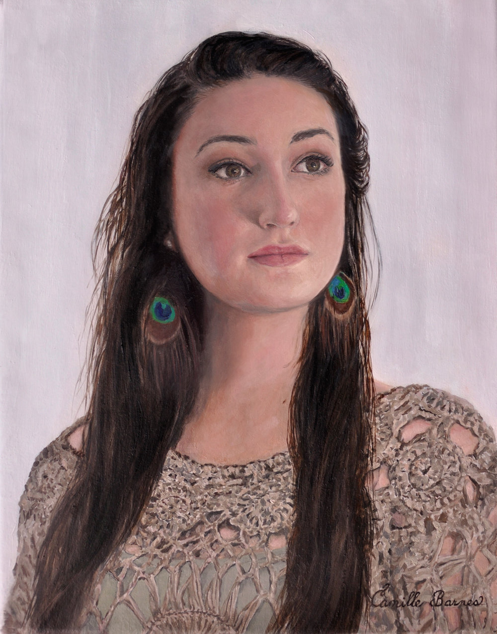 custom oil painted portraitscamille barnes — portrait artist