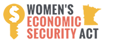 We lobbied for the Women's Economic Security Act (WESA).