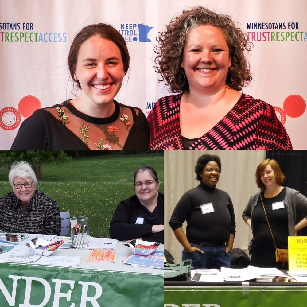Gender Justice board members and staff out in the community!
