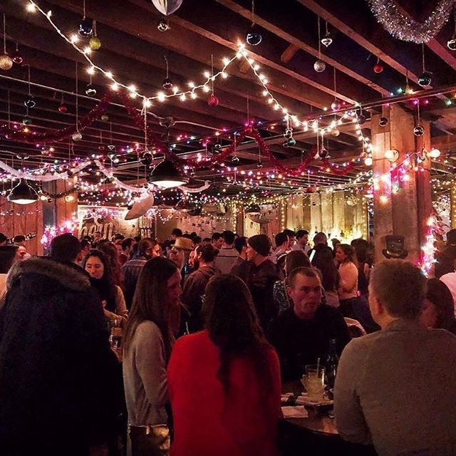"Come celebrate another successful season hosted by @greenpointers tomorrow!! 4pm- late!! Repost @greenpointers : ""Come and say goodbye for the season to the @northernterritorybk crew at their Winter Hibernation Party this Saturday, Nov. 17, from 4 p.m. - close.  Greenpointers will be guest bartending with pumpkin spice hot mulled apple cider, a favorite from our Samhain Fall Market.  Northern Territory will reopen in spring 2019 for their final year at the current location."""