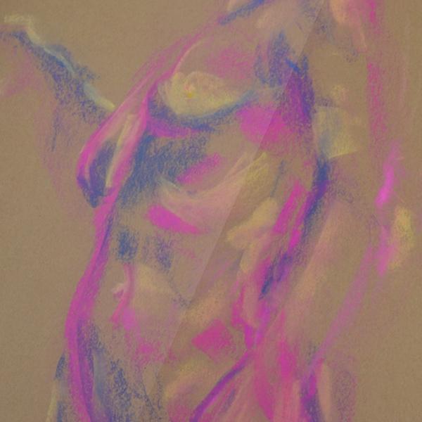 Female Tonal in Purple Pastels