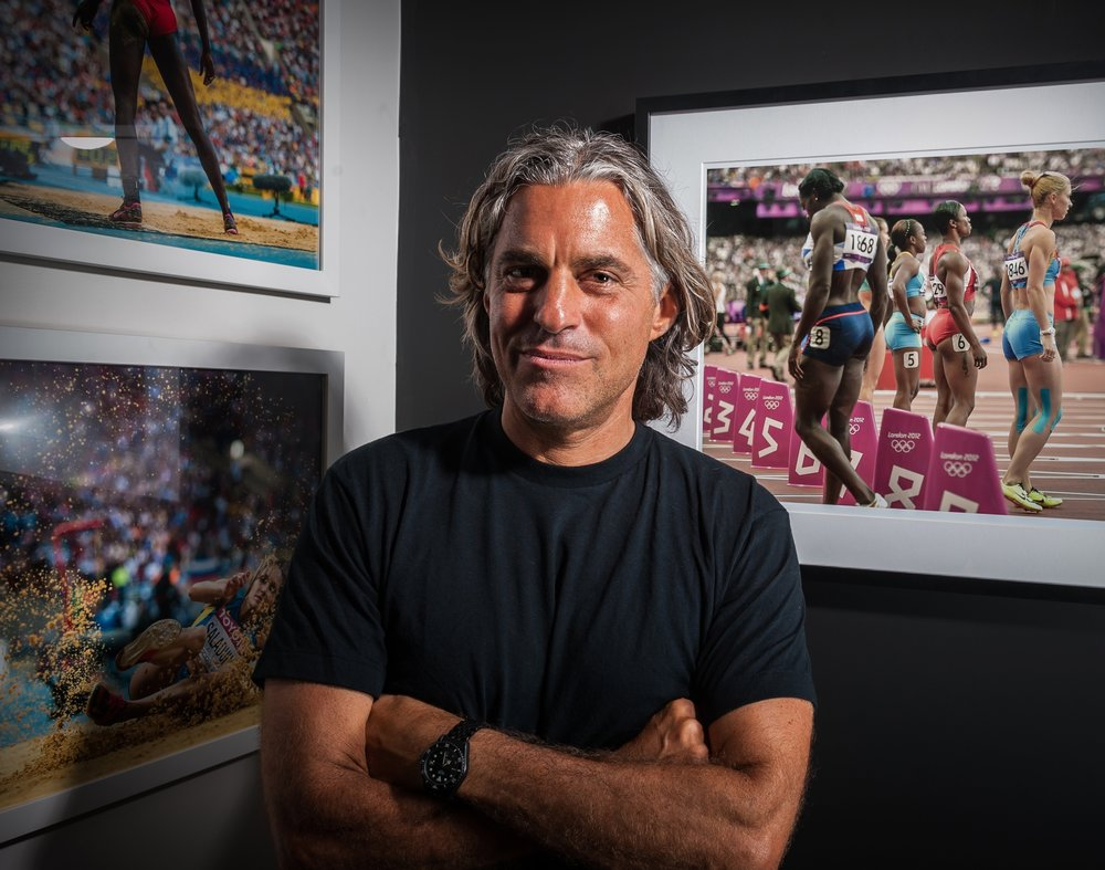 """<a href=""""/jeff-cohen"""">Jeff Cohen<strong>Track and Field Photographer</strong></a>"""