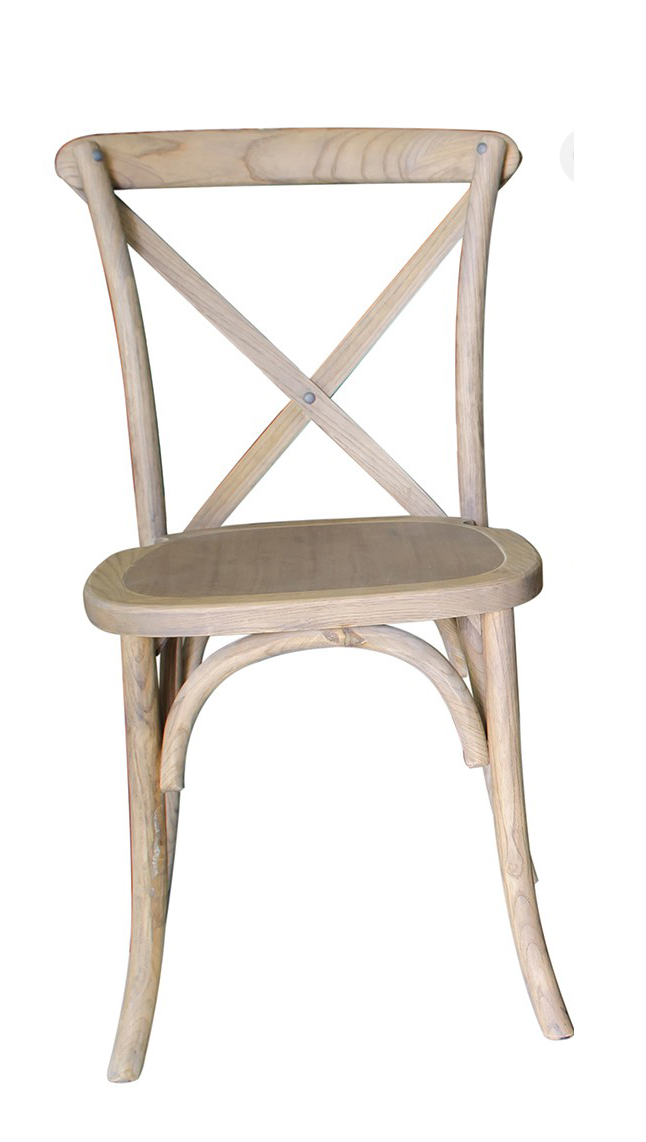 Exceptional X Back Chair Lime Wood Finish