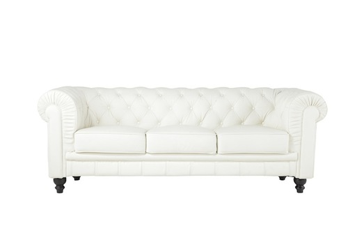 White Chesterfield Sofa Hank S Event Rentals