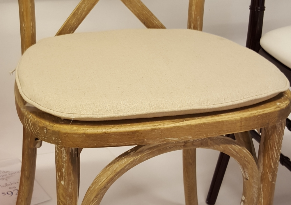 X Back Chair Lime Wood Finish