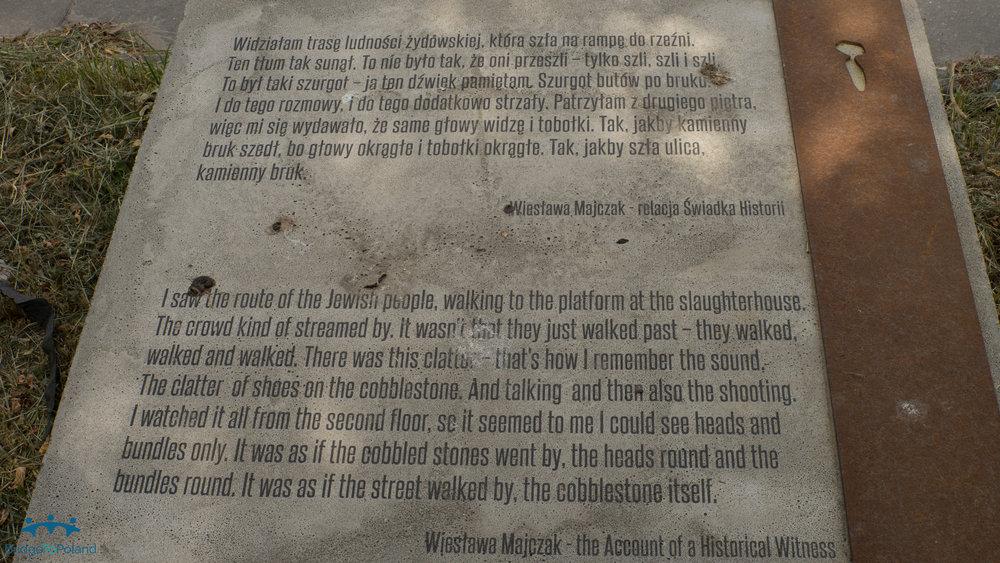 Eyewitness to walk to Umschlagplatz.jpg
