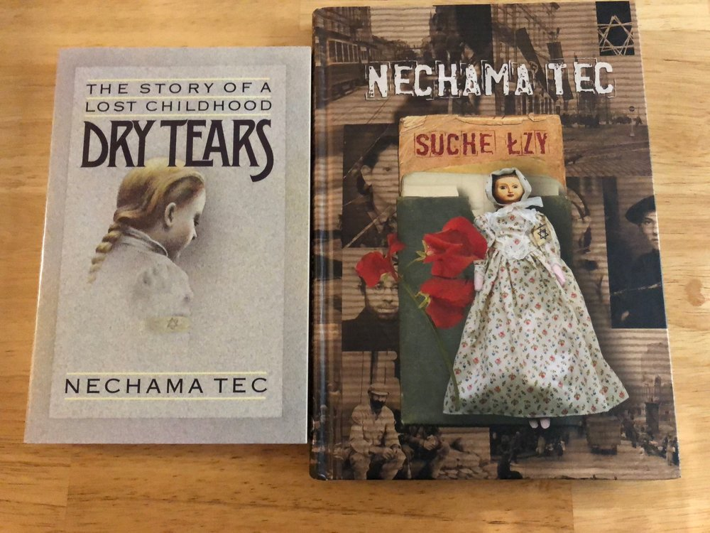 """Dry Tears"" by Nechama Tec (aka my mom) in English and Polish"