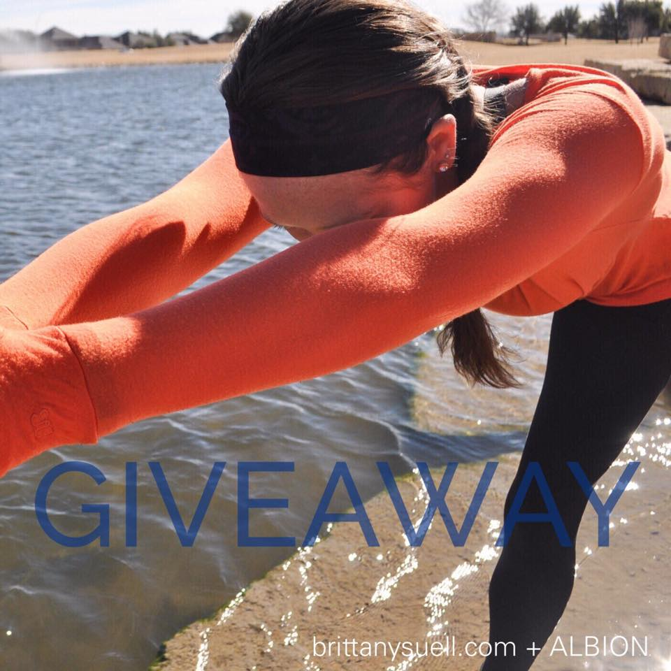 Albion Fit + www.brittanysuell.com GIVEAWAY!