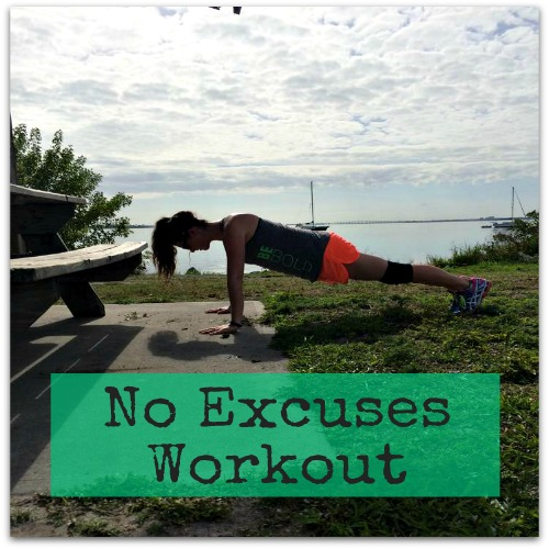 The #NoExcuses Workout by brittanysuell.com