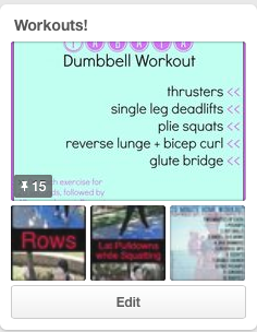 Workouts Pinterest Board from @brittanysuell