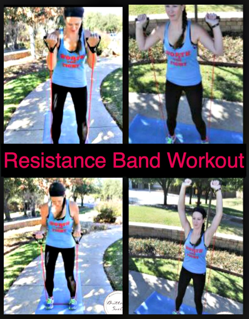 Resistance Bands Workout by www.brittanysuell.com