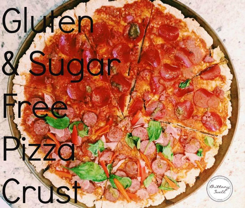 Gluten & Sugar Free Pizza Crust by www.brittanysuell.com