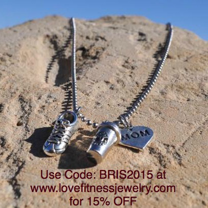 Cute and inspirational fitness jewelry! Get !5% OFF with code BRIS2015 at www.LoveFitnessJewelry.com from @brittanysuell
