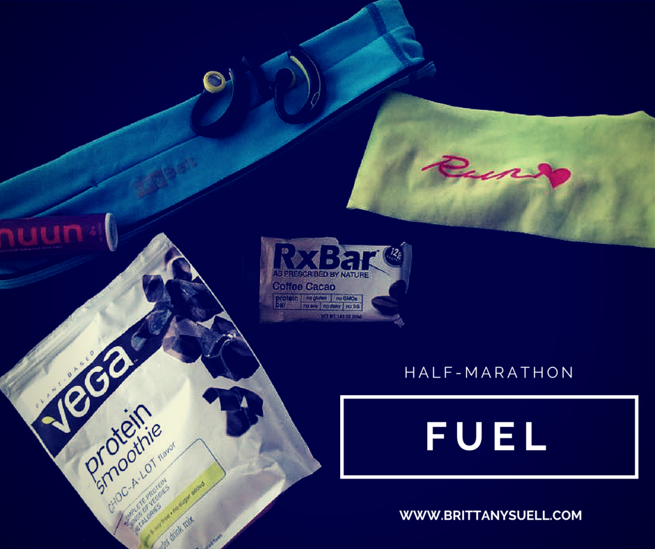 How to fuel your half marathon. Before, During, and Post Race Nutrition by @brittanysuell`