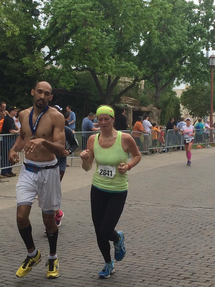 Recap of my first half marathon after having my son! @brittanysuell