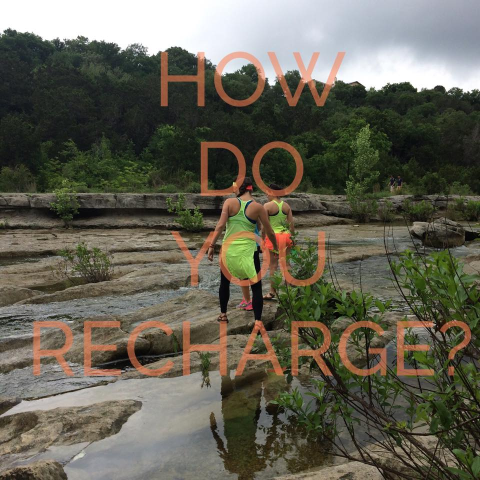 Top 5 Ways to RECHARGE!! Take control of your life, and enjoy some time for you!