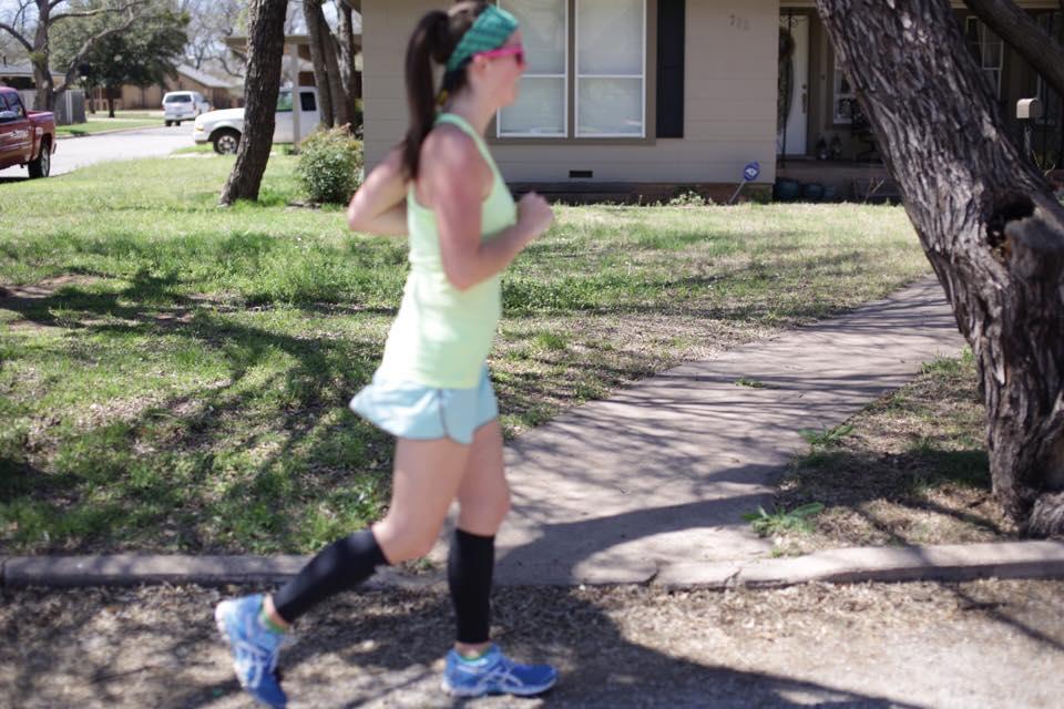 Using @BioSkin Compression to help fuel my half-marathon training! I am loving how it is enhancing my runs! @brittanysuell