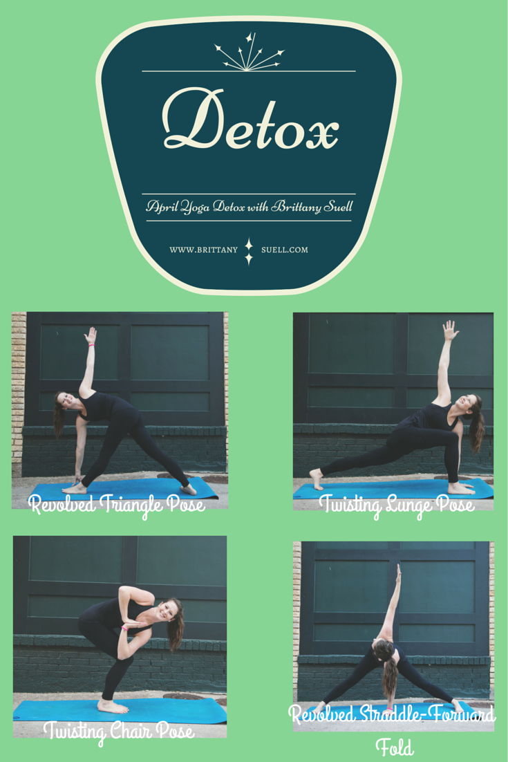 Try these Detoxing Yoga Poses from @brittanysuell! Perfect for the new spring season!