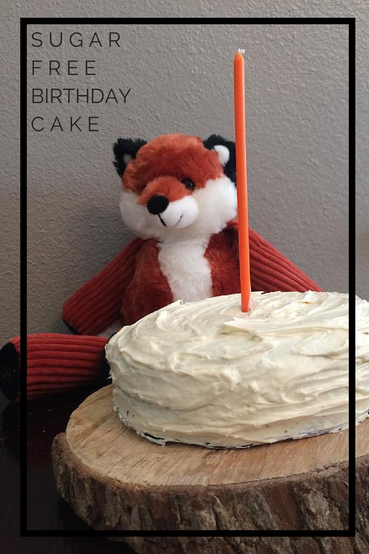 Sugar Free Birthday Cake! Easy, Tastes Good, and is perfect for a child's first birthday! by @brittanysuell