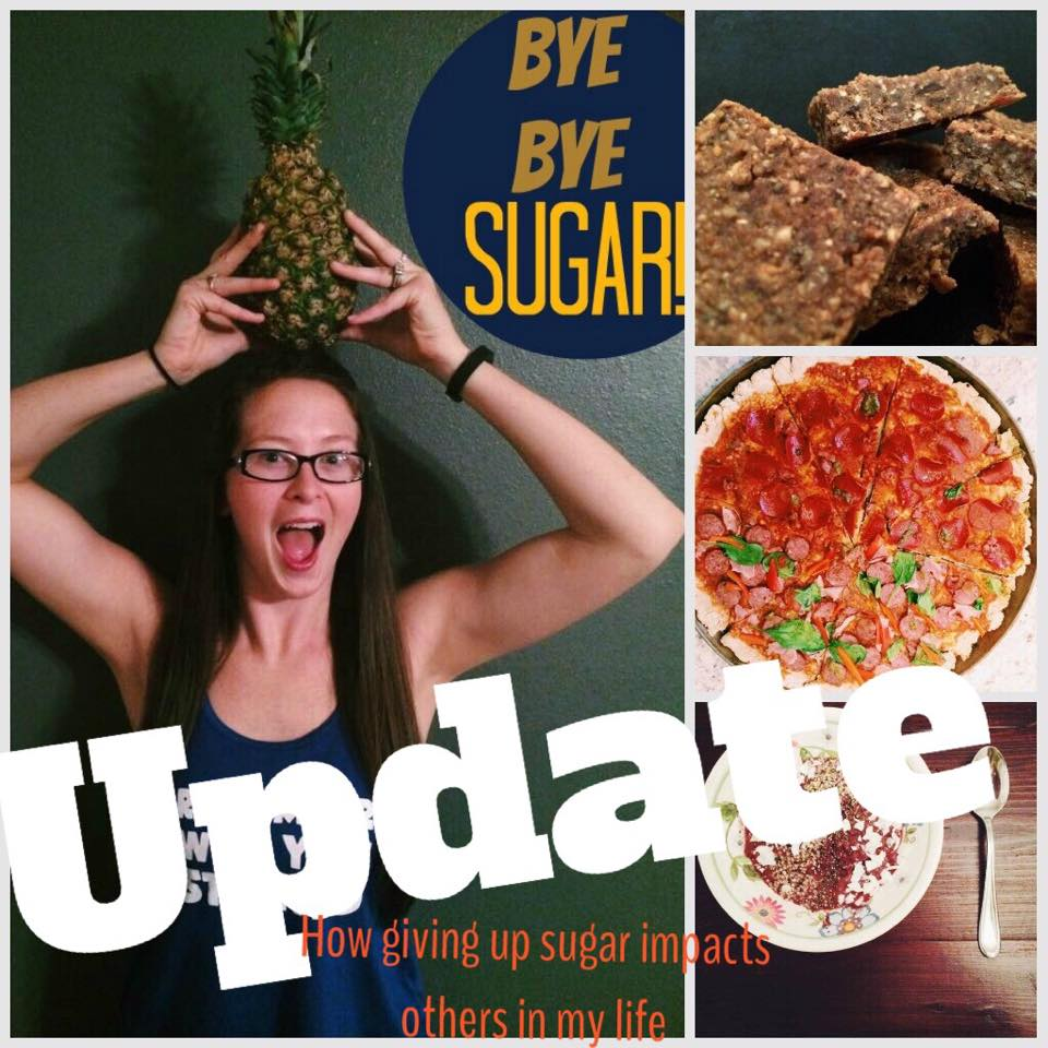 I'm gone three and a half months without sugar! Here's how I'm doing, and how giving up sugar impacts others in my life! via @brittanysuell