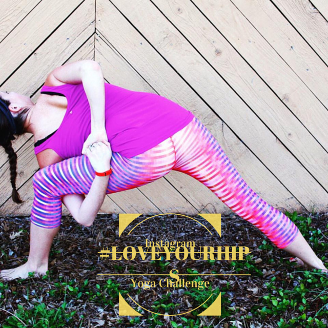 #LoveYourHips Yoga Challenge with sponsor @PrAna