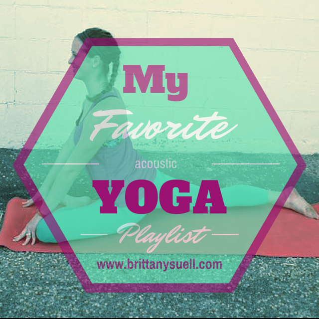 The Top 5 Hits on my summer workout playlist plus my favorite yoga playlist! #Fridayfive