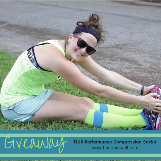 TIUX Compression Socks Review & Giveaway