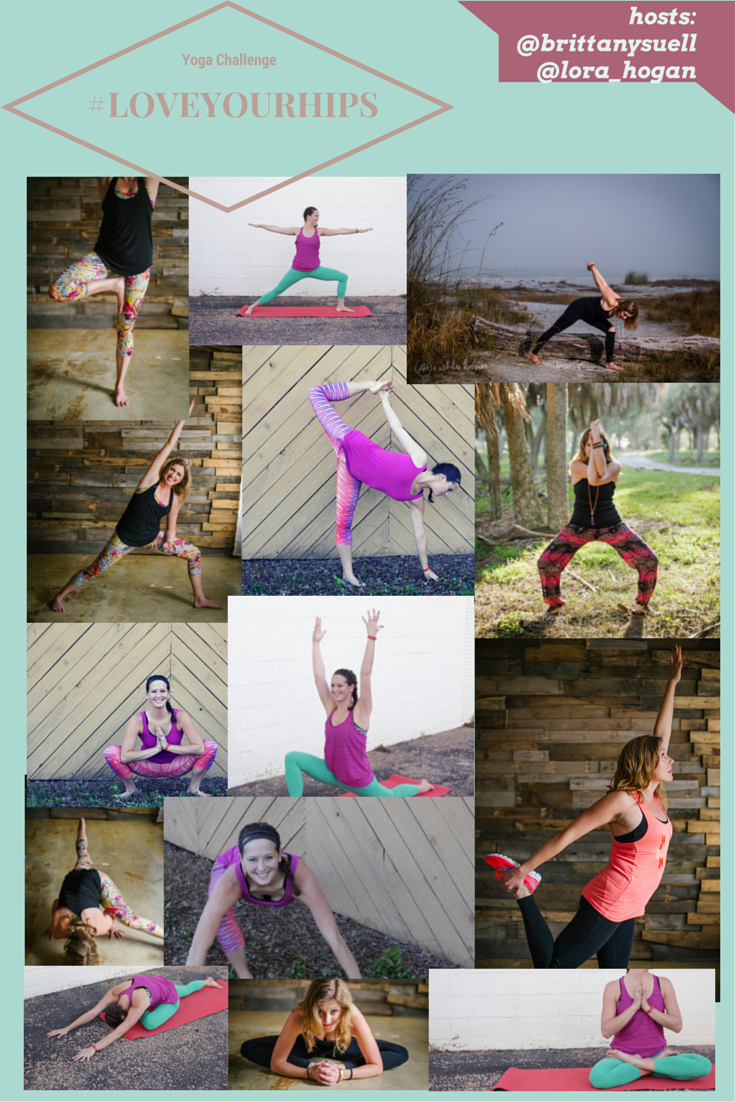 Join the 14 day #LOVEYOURHIPS Yoga Challenge with @brittanysuell and @lora_hogan and WIN prizes from @prana
