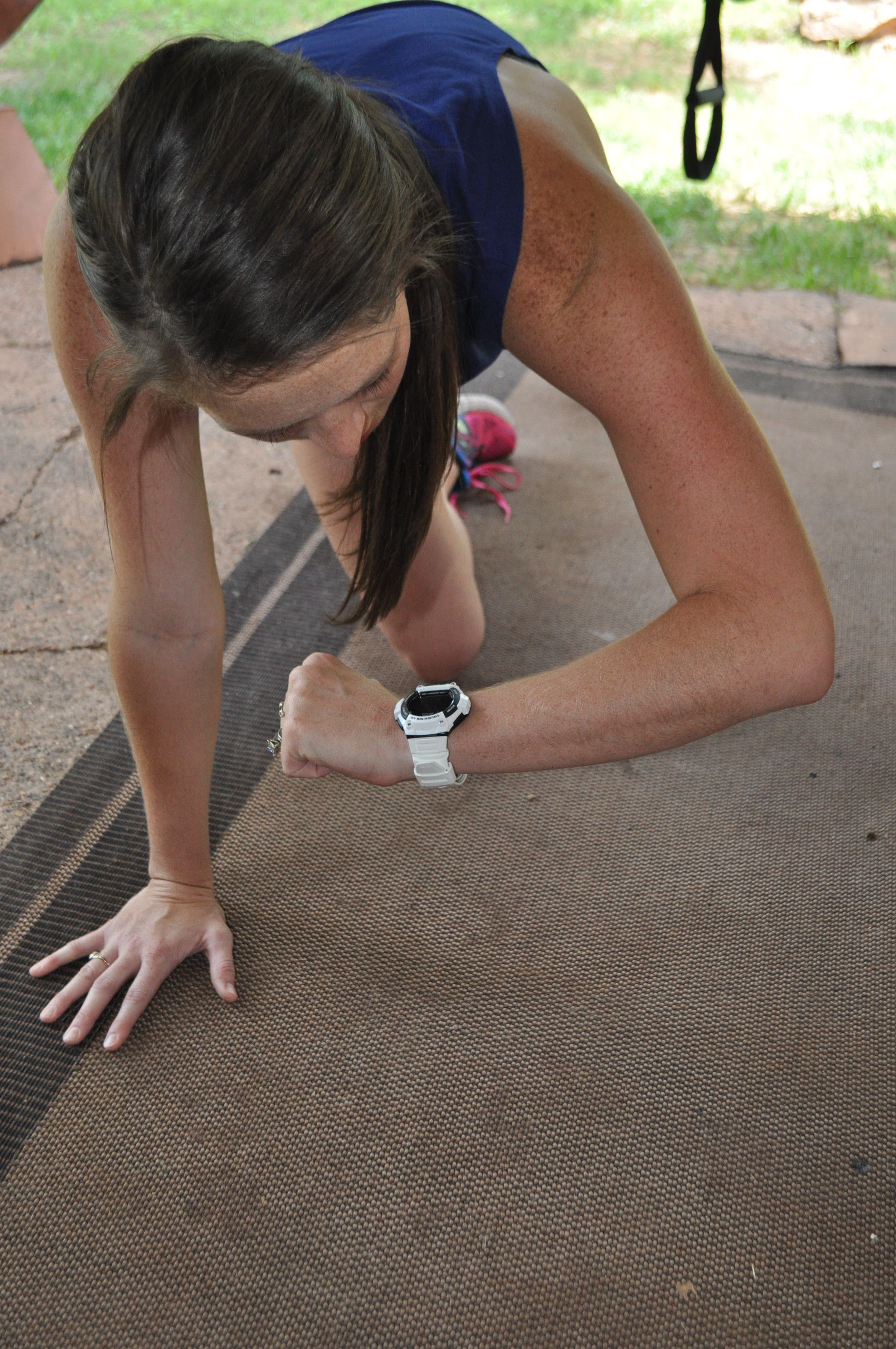 The Backyard Body Burner Workout + the CASIO Watch Giveaway from @Kohls